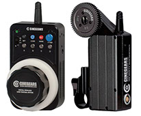 CineGears 100 Meter Wireless Remote Follow Focus Controller w / Stops